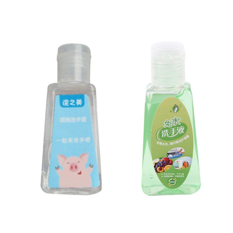 30ml Travel Portable Mini Hand Sanitizer Anti-Bacteria Moisturizing Fruit-Scente Hand Soap