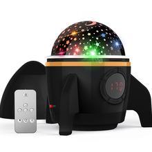 Звездное небо светодиодный Ночной Светильник проектор лунный светильник подарок для детей батарея USB спальня Рождественская вечеринка Детский подарок