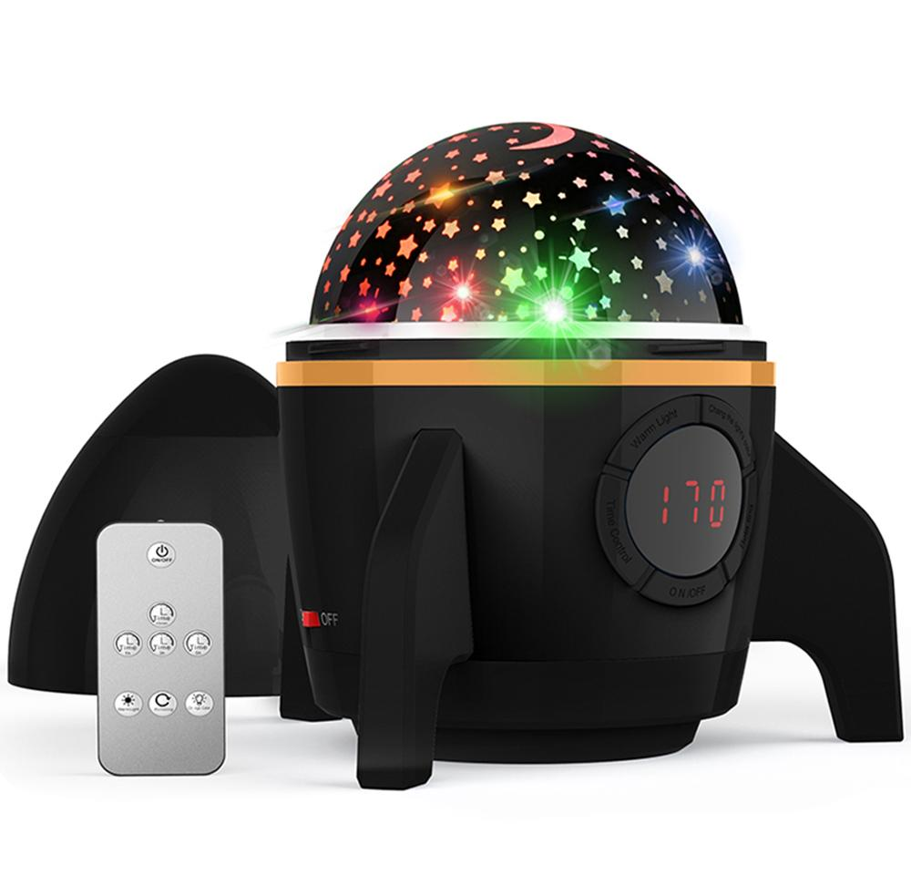Star Starry Sky LED Night Light Projector Moon Light Gift For Kids Battery USB Bedroom Christmas Party Children's Gift
