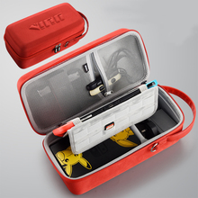 المحمولة التبديل حقيبة التخزين عالية قدرة الصلب غطاء قذيفة المدمج في قوس NS لعبة وحدة التحكم حالة لنينتندو التبديل اكسسوارات