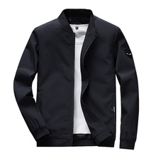 Light and Thin Models Casual Europe America Solid Color Slim Men Jacket for Business