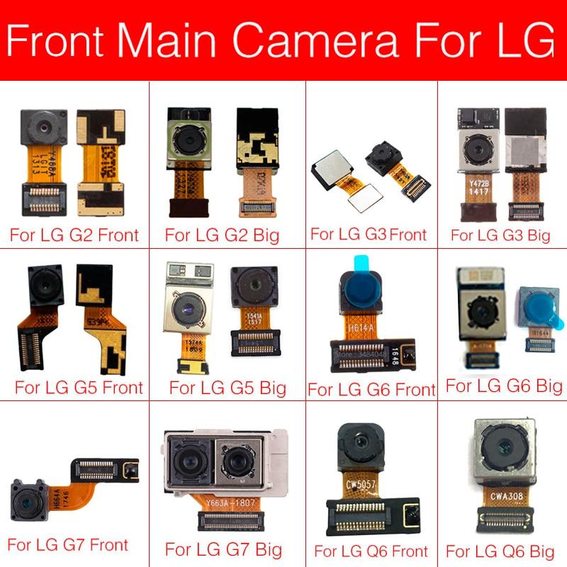 Main Rear Camera Flex Cable For LG G2 G3 G5 G6 G7 Q6 Back Camera Big Facing Camera Flex Ribbon Cable Replacement Repair Parts