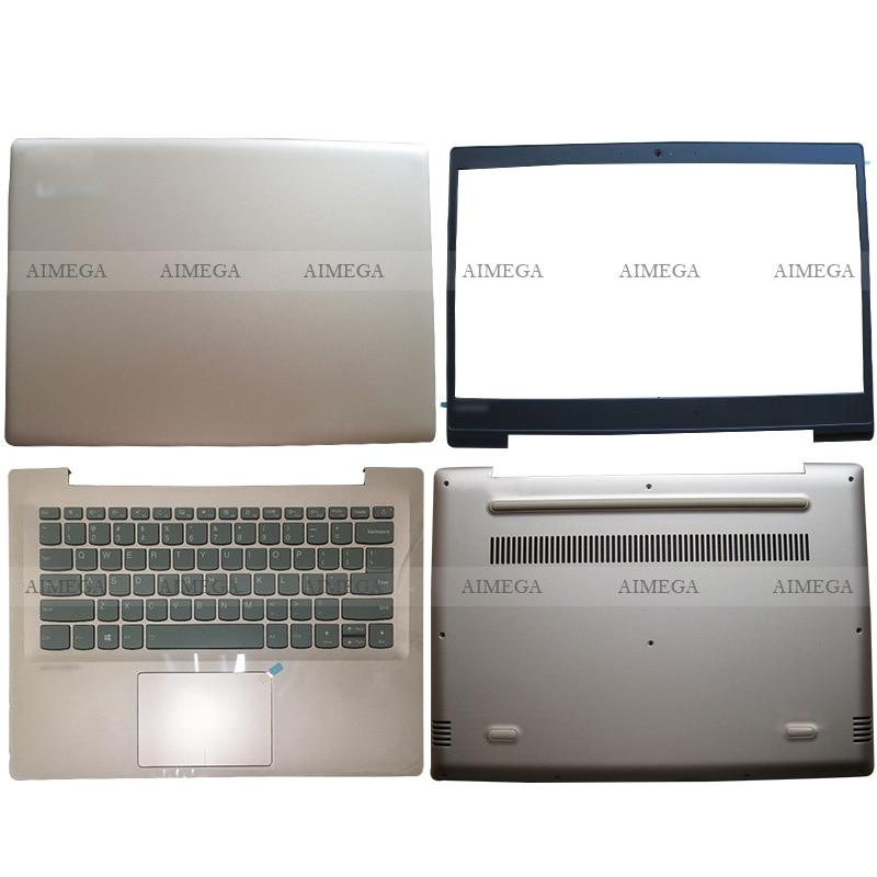 For Lenovo ideapad 520S-14 520S-14IKB 7000-14 Laptop LCD Back Cover/Front Bezel/Palmrest/Bottom Case Gold