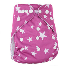 Baby Diapers PUL Nappies Pocket-Cloth Washable Waterproof One-Size Stock Suede Low-Price