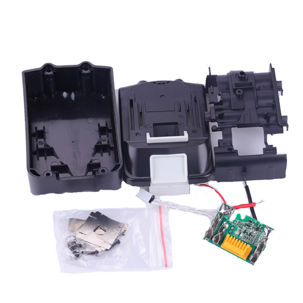 BL1850 PCB Circuit Board With Lithium Ion Power Tools <font><b>Battery</b></font> Case Replacement for <font><b>Makita</b></font> <font><b>18V</b></font> BL1840 BL1830 LXT400 Plastic Shell image
