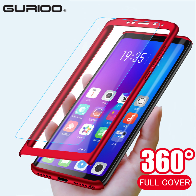 360 Full Cover Phone Case For Xiaomi Redmi Note 2 3 4 4X 5 5A 6 7 8 8T Pro Plus 4 Prime 3S GO K20 Shockproof Cover Tempered Film