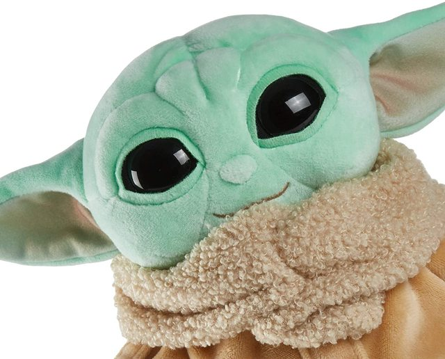 Disney Original 21CM BABY YODA Plush Doll Toys Hobbies Soft Stuffed Animals Stuffed Plush for Children Christmas Gift 2