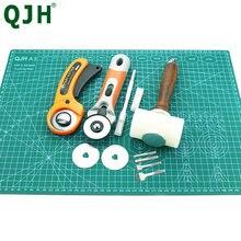 Tappetino da taglio professionale in PVC autorigenerante su due lati, compatibile con lama rotante, martello, punzoni Set di utensili in pelle per cucire