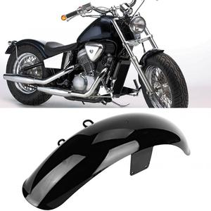 1pc Motorcycle Front Mud Flap Guard Mudguard Cover for Honda Shadow VT600 VLX 600 Black ABS Easy Installation