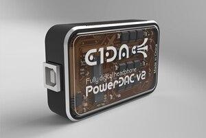 Image 3 - PowerDAC v2 E1DA אוזניות Amp PEQ DSP BLE DAC וכבלים