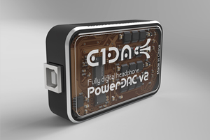 Image 3 - PowerDAC v2 E1DA Headphone Amp PEQ DSP BLE DAC and Cables
