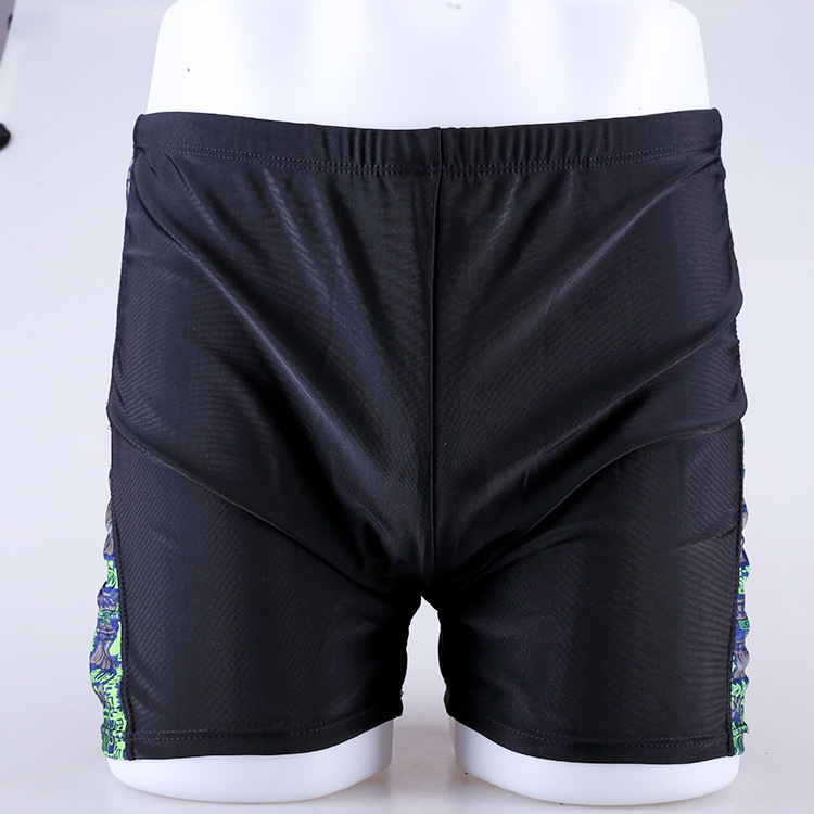 Swimming Trunks Men's Boxer Loose Bubble Hot Spring Swimming Trunks Men's Fashion Large Size Beach Swimming Equipment Fashion Ma