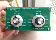 Door BG7TBL FOS 3 Ocxo Frequentie Standaard 2CH Woord Klok,, ondersteuning Extern Rb Klok Input Referentie Voor Audio Apparatuur Luidspreker
