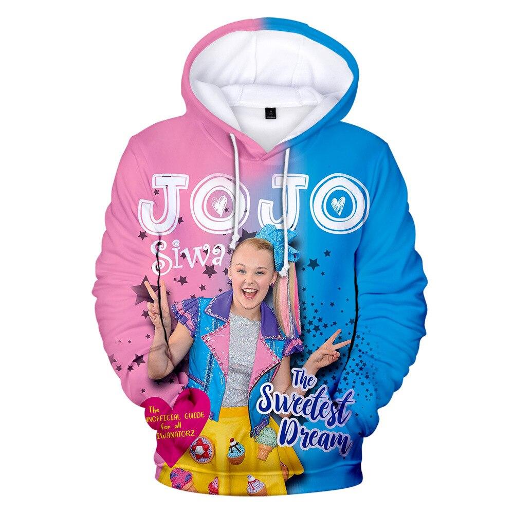 Kids Girl 4-12 Years Jojo Siwa Bowknot Spring Zipper Coat Sweatshirt Hoodie