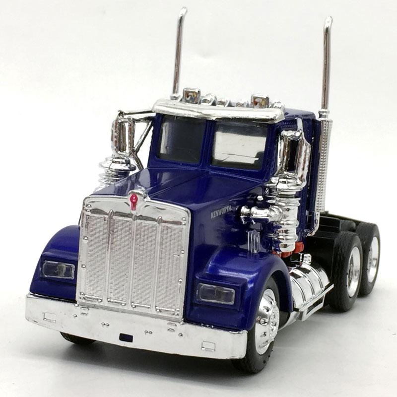 5pcs/lot Wholesale NEWRAY 1/43 Scale KENWORTH W900 Truck Diecast Metal Car Model Toy