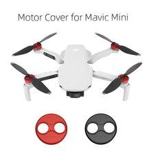 4PCS Mavic Mini/Mini 2 Motor Abdeckung Cap Drone Staub-beweis Motor Schutzfolie Zubehör Aluminium licht Slip-über