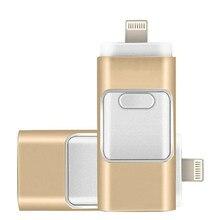 DASKA 3in1 Otg usb flash sürücü 8gb 16gb 32gb 64gb 128gb 256gb Iphone Ipad için tablet telefon yıldırım android kalem sürücü Usb