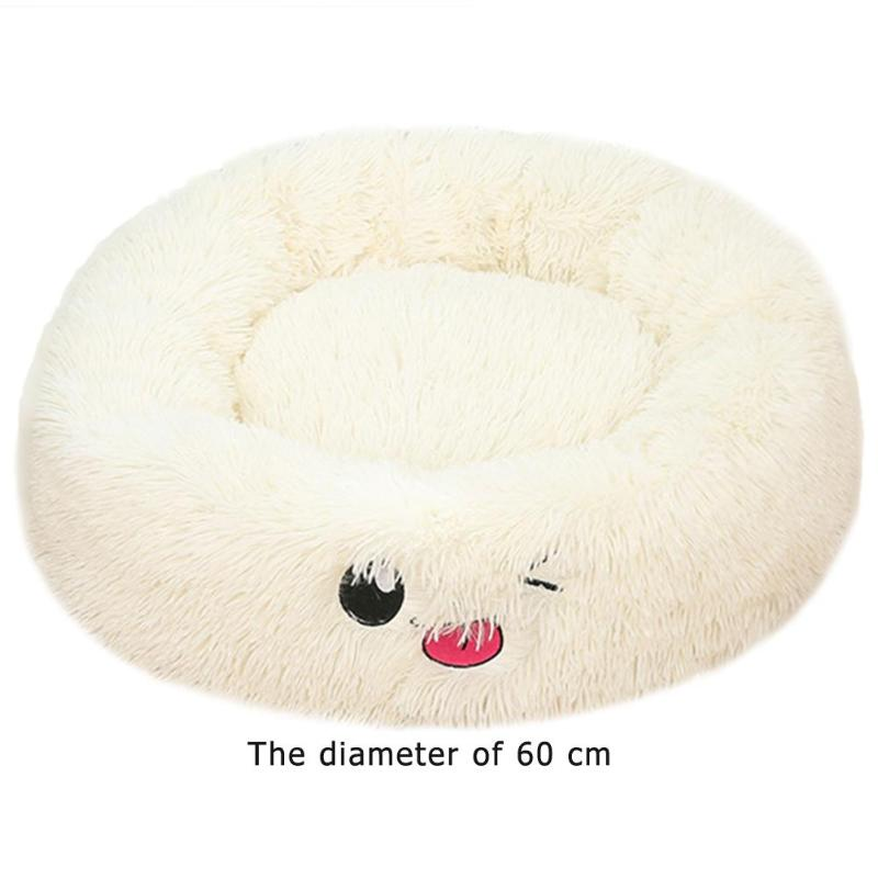 Lamb Velvet Plush Dog Cat Beds Soft Plush Pet Sofa Waterproof Bottom Nest Baskets Sleeping Cushion Household Supplies 31