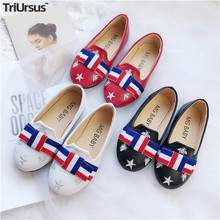 2020 Spring New Fashion Children Girls Dress Shoes PU Leather Kids Party