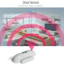 Sistema compatível do sensor da janela da porta do sensor de NAS-DS01Z zwave com z-onda 300 séries e 500 séries de automação residencial anti-roubo