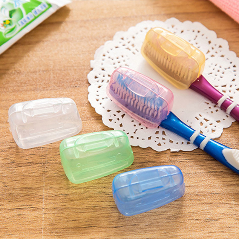 5Pcs/set Colorful Portable Tooth Brush Cover Holder Toothbrush Head Travel Hiking Camping Cap Cases Covers Protector