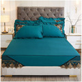 high quality 1/3pcs Bed Mattress Cover Bed Dust Cover Cotton material Bed sheet lace edge bed protect cover multi-size