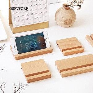 Универсальный деревянный Настольный держатель для мобильного телефона Xiaomi, держатель для iPhone 11 Pro X Max S samsung S9 S10, деревянная подставка для пл...