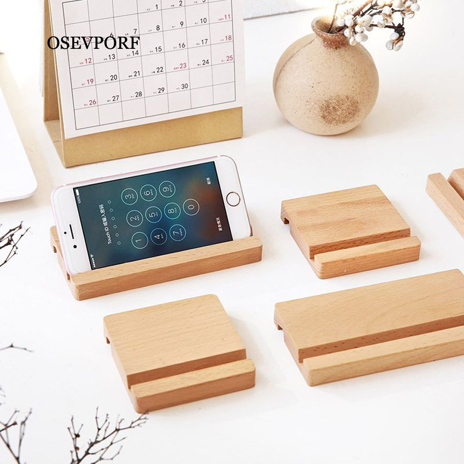 Universal Suporte Tablet Stander Holder For IPad Air Mini 2 3 4 5 For IPhone Smart Phone Samsung S10 Xiaomi Wooden Desktop Stand