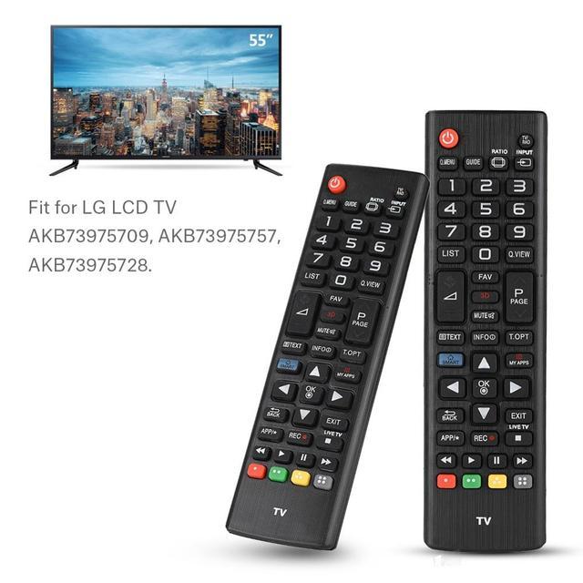 אוניברסלי חכם טלוויזיה שלט רחוק Replaceme LCD HDTV בקר עבור LG LCDTV טלוויזיה AKB73975709 AKB73975757 AKB73975728