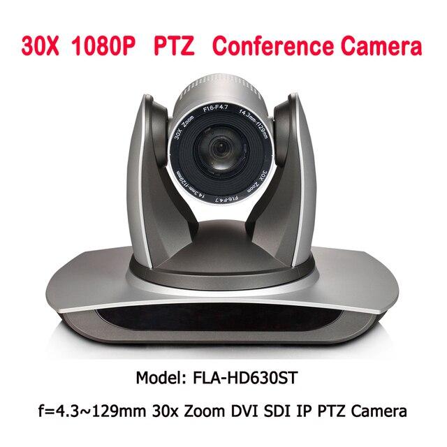 Super zoom 30x broadcast and conference camera IP SDI DVI interface for photo studio accessories