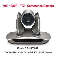 Super zoom 30x broadcast e conferenza telecamera IP SDI DVI interfaccia per photo studio accessori