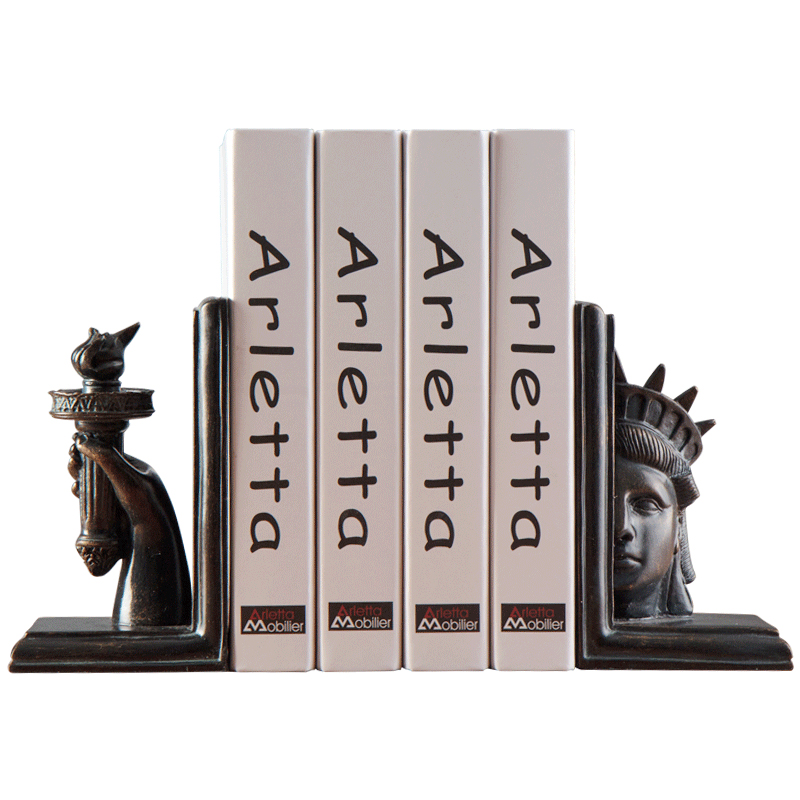 Creative Statue of Liberty Bookeds Decoration Home Study Book End Decor Living Room Wine Cabinet Ornaments Figurines X4357