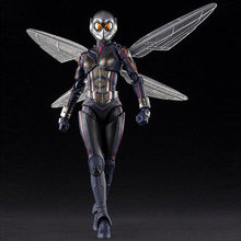 Real The Avengers 4 Wasp female Garage Kits model Ant-Man movable doll model Garage Kits decorate collection toy child gift
