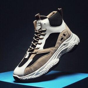 Image 1 - BIGFIRSE אופנה נעליים לגברים מותג מגמת חיצוני מגמת נעלי גבר פנאי נעלי סתיו Zapatillas Hombre 2019 גברים סניקרס
