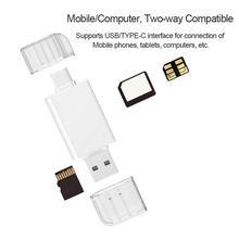 USB-C типа C к нм Nano карта памяти и TF Micro SD кард-ридер для huawei легко носить с собой использовать AA4571