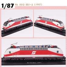 LBLA Ретро модель поезда класс 1: 87 Rh 1012 001-2 1997 Ретро паровой дизельный Паровозик модель поезда строительные блоки игрушки Детский подарок