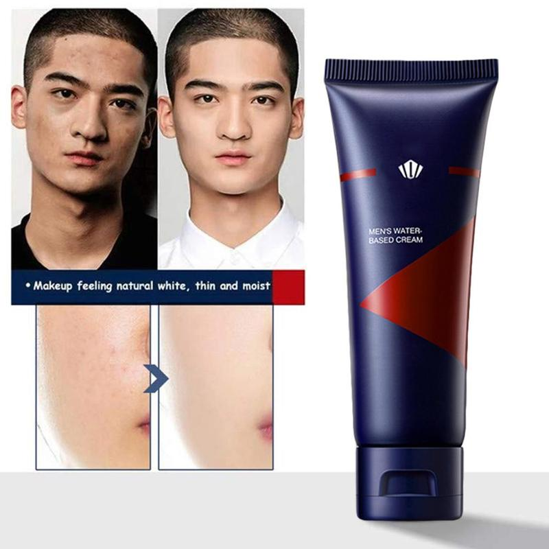 50g Men BB Cream Revitalising Nourishing Men's BB Cream Natural Whitening Face Foundation Tone Up Cream Lazy Concealer