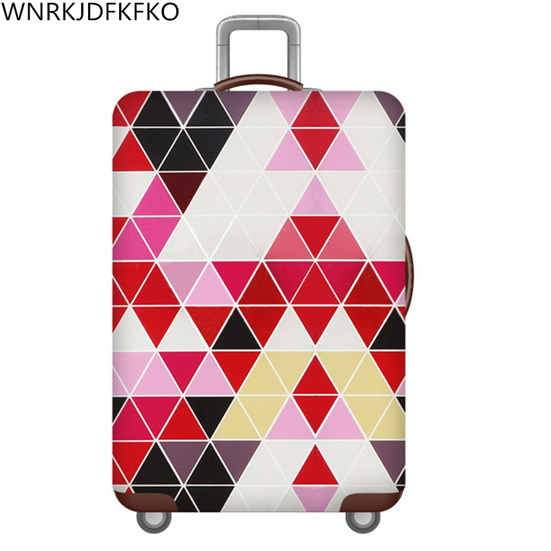 New Travel Thicker Luggage Suitcase Protective Cover For Trunk Apply To 18 '' -32 '' Cover Of Elastic Suitcase Perfectly