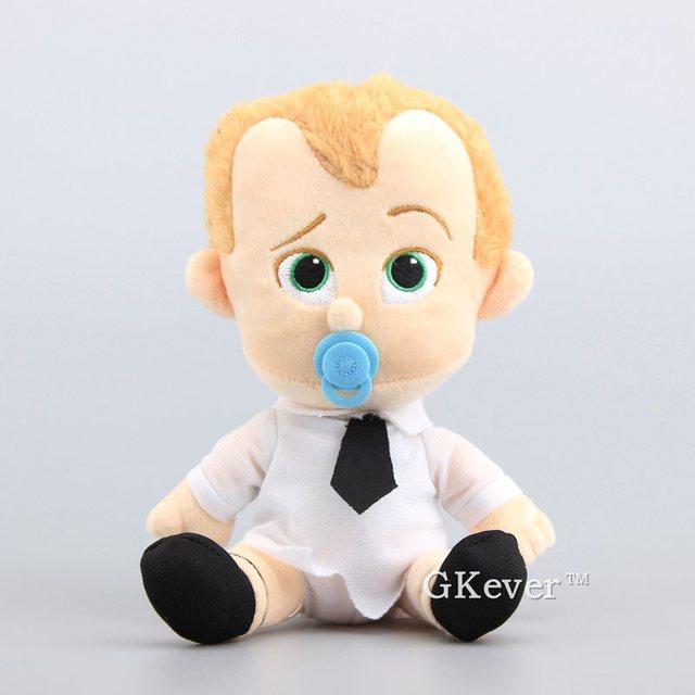 """New Arrival The Boss Baby garnitur i pieluchy Boss Baby Pet Dog miękkie nadziewane zabawki pluszowe lalki inspirowane kreskówkami 7 """"18 CM upominek dla dzieci"""