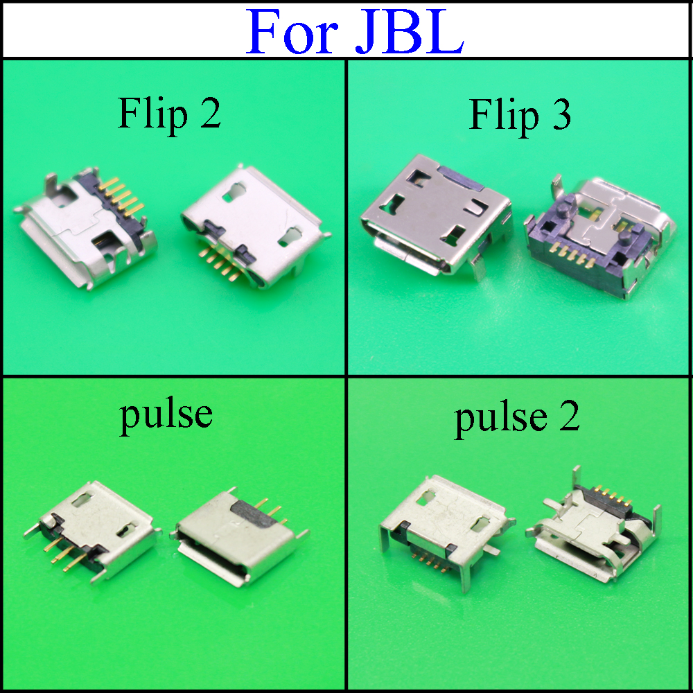 YuXi For <font><b>JBL</b></font> FLIP 3 <font><b>2</b></font> Pulse <font><b>2</b></font> Bluetooth <font><b>Speaker</b></font> Mini Micro USB Jack Dock <font><b>Charging</b></font> Port Charger Connector power plug Repair parts image