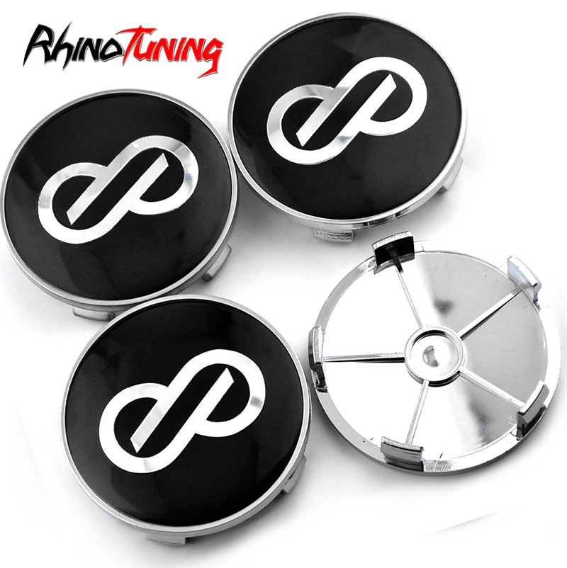 4pcs 69mm Enkei Auto Wheel Hub Center Caps Emblem Cover For E68 E39 E81 E88 E89 E83 Auto Accessories image