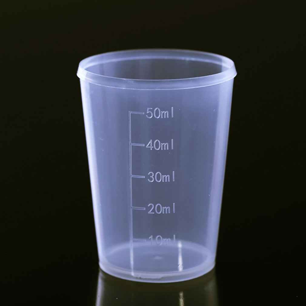 Reusable Portable Size Measuring Cup Jug Graduated Surface Container Kitchen Tool Measuring Jugs Tools