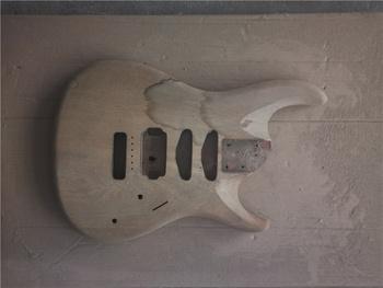 Afanti muzyka DIY gitara zestaw DIY gitara elektryczna ciała (MW-3-384) tanie i dobre opinie none not sure Strona główna-schooling Profesjonalna wydajność Beginner Unisex CN (pochodzenie) Brazylia drewna Electric guitar