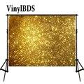 VinylBDS 8x8ft шикарный фон Золотой День рождения и Свадебная вечеринка великолепный свадебный фон для фотосессии