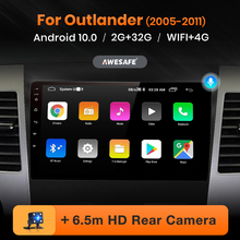 AWESAFE PX9 for Mitsubishi Outlander xl 2 2005-2011 Car Radio Multimedia video player GPS No 2 din Android 10.0 2GB+32GB