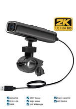 Sameuo – caméra de moto Q1, enregistreur vidéo 1440P 2k, caméra de vélo, wifi, DVR, dashcam, Vision nocturne