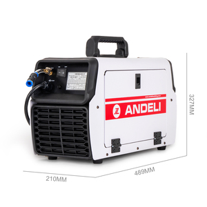 Image 5 - ANDELI Smart Welding Machine MIG TIG MMA Cold Welding and Flux Welding without Gas 4 in 1Multi function TIG Welding Machine