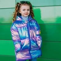 Радужная куртка с капюшоном Цена: от 960 руб. ($12.29) | 248 заказов Посмотреть:   ???? Очень красивая, удобная, лёгкая и тёплая куртка для дочки. Когда заказывала, переживала из-за размера. Долго думала, стоит ли взять 5Т или 4Т. В результате взяла 4Т и с