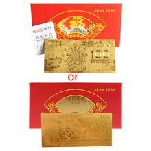 2020 Chinese New Year Red Envelopes lucky money Rat Commemorative Gold K1MF