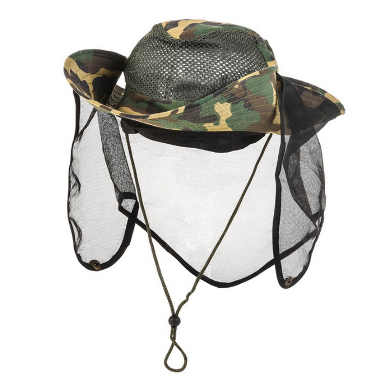 Outdoor Night Fishing Cap With Head Light Camouflage Camping Fishing Hunting Hea